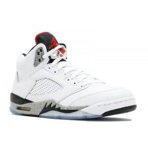 Jordan Enfants Air 5 Retro Low (gs) chaussure de basket DXL6H 37 1-2 mLHYH