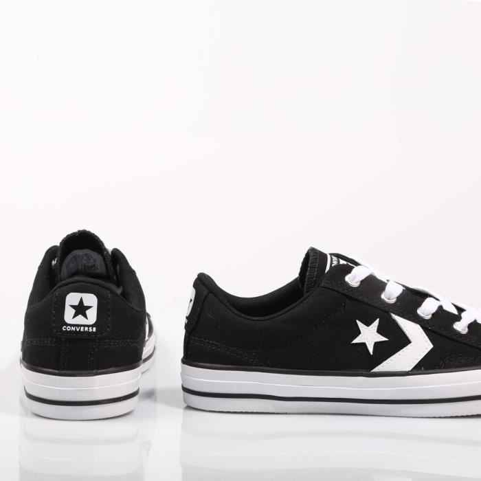 Adults' 38 Low Men's Sneakers Player top 3dxzjo Lifestyle Taille Ox Converse Star Cn547Pqww