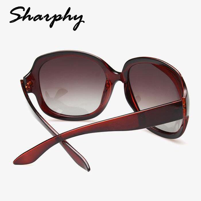SHARPHY® Lunettes de soleil Femme mode polarisées marron Bq3PE ... 0f570e60c457