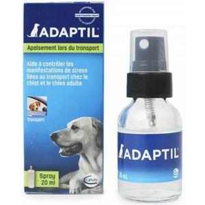 DIFFUSEUR BIEN-ÊTRE ADAPTIL Spray voyage anti-stress 20 ml - Pour chie