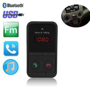 TRANSMETTEUR FM Bluetooth Car Kit lecteur de musique Radio Transme