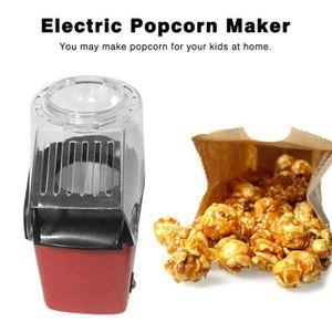CUISEUR À POP CORN Machine à Popcorn automatique électrique - Rouge
