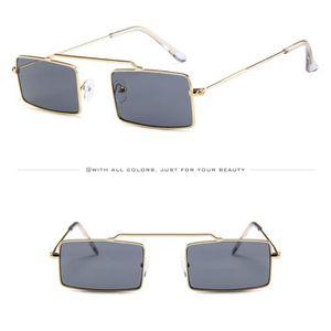 LUNETTES DE SOLEIL Femmes Hommes Vintage Retro Petit lunettes de cadr ... 6f6832f0bcf5