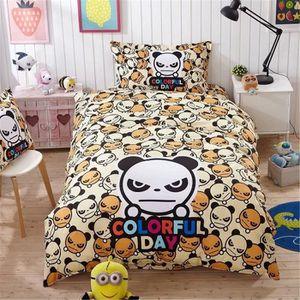 housse de couette 200x200 panda achat vente pas cher. Black Bedroom Furniture Sets. Home Design Ideas