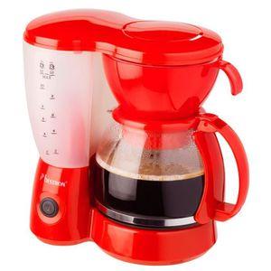 CAFETIÈRE BESTRON ACM6081R Cafetière filtre - Rouge