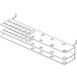 PANIER PORTE-OUTILS Porte foret et tournevis - pour 23 outils - sachet
