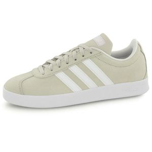 new product 98f83 92c1f BASKET Adidas Neo Vl Court 2.0 beige, baskets mode femme