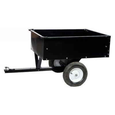 Remorque pour tondeuse autoportée tracteur quad basculante ...