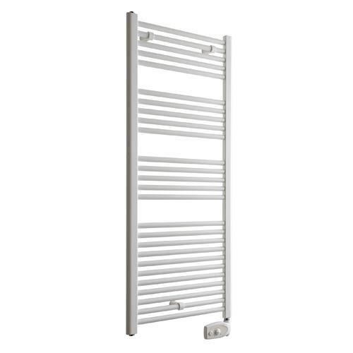 Radiateur s che serviettes acier primo blanc achat for Puissance radiateur seche serviette