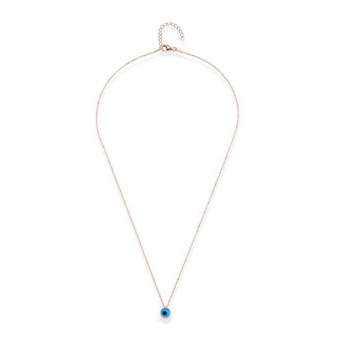 Collier de la chance Argent 925° zirconium femme Eternels bijoux by Lili