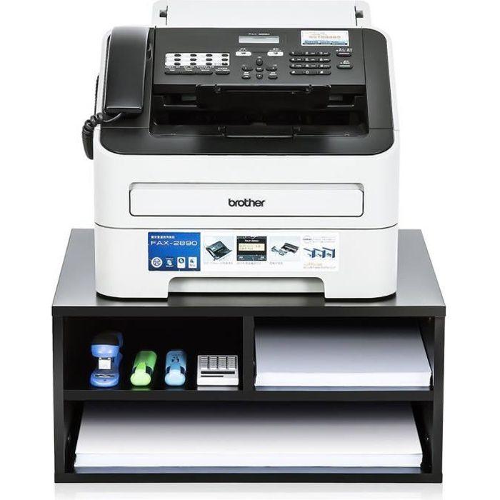 Meuble Rangement Imprimante fitueyes meuble support avec multi-rangement pour imprimante avec 2