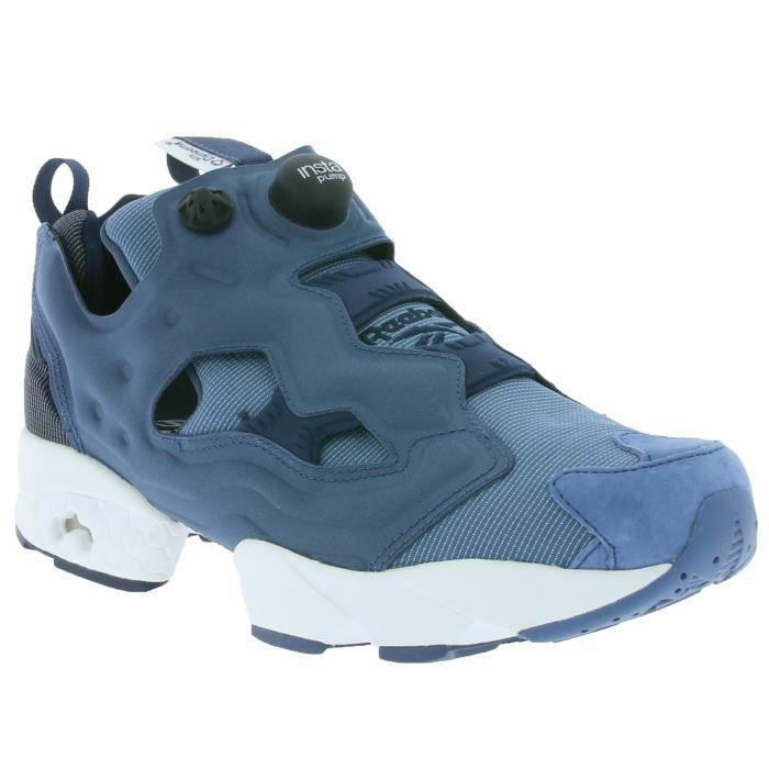 52cbe8f841788 Classic Instapump Fury Tech Hommes Sneaker Bleu AR0624 Bleu Bleu ...