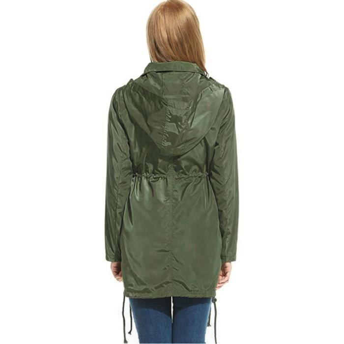 veste de pluie femme achat vente veste de pluie femme pas cher soldes d s le 10 janvier. Black Bedroom Furniture Sets. Home Design Ideas