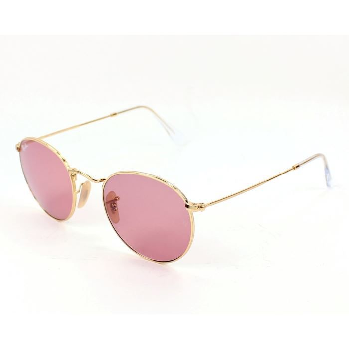 Lunettes de soleil Ray Ban RB3447 Or, verres Rose Or - Achat   Vente ... 79d1a2208556