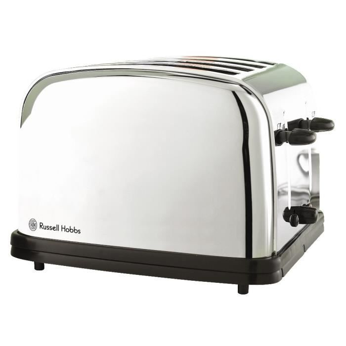 RUSSELL HOBBS Chester 13767-56 Grille-pain - 1800W - Inox - Achat ...
