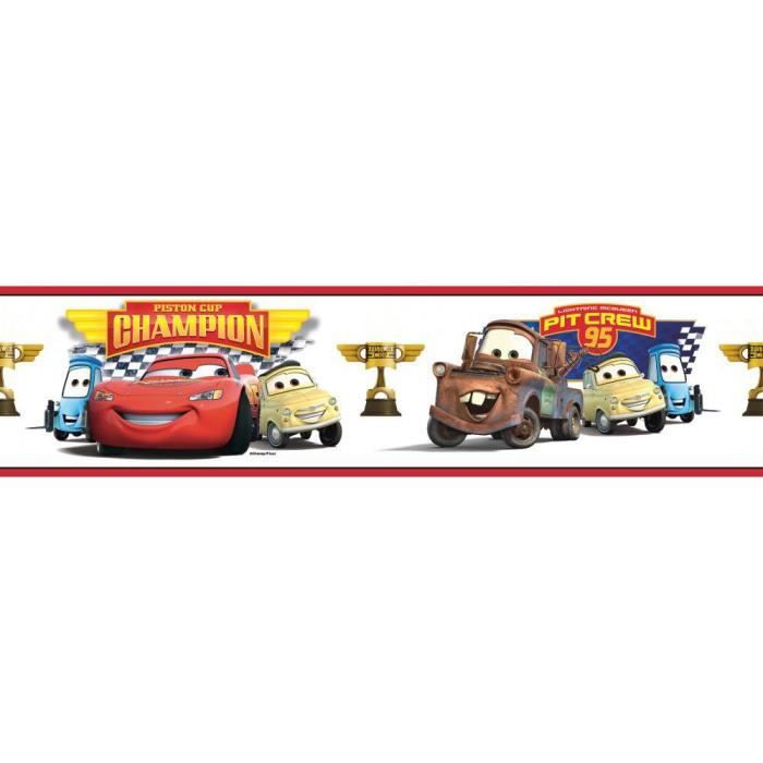 Stickers Disney Cars Frise Roommates Repositionnables 4