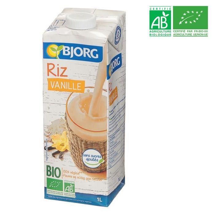 LAIT FRAIS BJORG Boisson riz saveur vanille des îles - Biolog