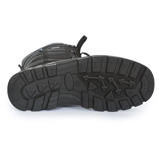 aeab44bfe84 STRAITON II - bottes de neige adulte - Homme Noir Noir - Achat   Vente botte  - Soldes  dès le 9 janvier ! Cdiscount