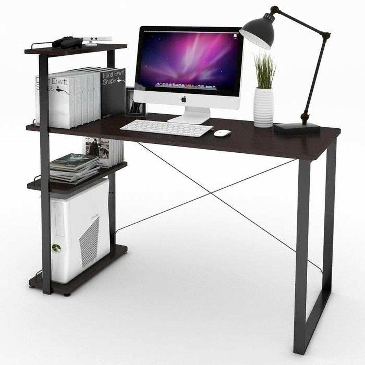 Meuble etagere informatique achat vente meuble etagere for Bureau informatique avec etagere