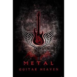 AFFICHE - POSTER Posters XXL Guitares - Guitar Heaven, Metal (120 x