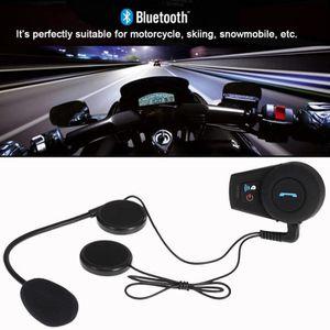 INTERCOM MOTO Freedconn Casque de moto Bluetooth Intercom sans f