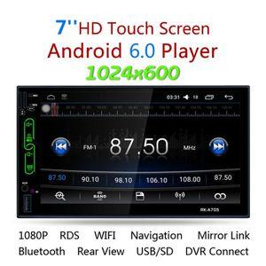 LECTEUR MP4 RK-A705 Android 6.0 Lecteur Multimédia de Voiture