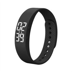 MONTRE CONNECTÉE T5S Bracelet Montre avec Vibrant En Temps Réel Wri