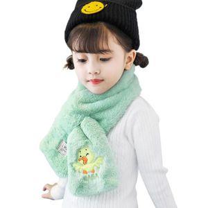 ECHARPE - FOULARD Vbiger chaud Enfants en peluche foulard épais, men 1cadc83bd9d