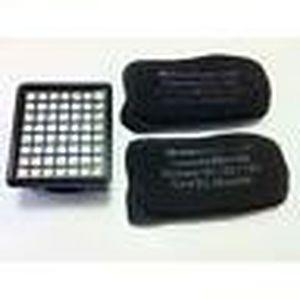 PIÈCE ENTRETIEN SOL  1 Micro filtre + 2 carbone Vorwerk VK130 et VK131