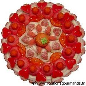 CONFISERIE DE SUCRE Grand gâteau romantica