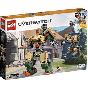 ASSEMBLAGE CONSTRUCTION LEGO® Overwatch 75974 Bastion