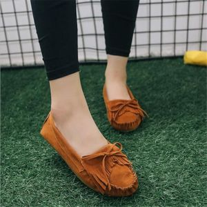 Moccasin Femmes Durable Classique Nouvelle Mode Chaussure ete Confortable Respirant Moccasins Plus De Couleur Grande Taille vy2lnNxa