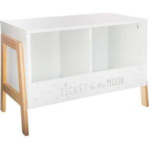 casier de rangement blanc achat vente pas cher. Black Bedroom Furniture Sets. Home Design Ideas