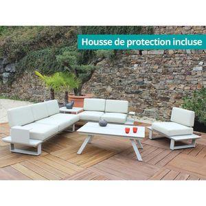 Salon de jardin aluminium Residence - Achat / Vente Salon de jardin ...
