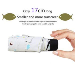 PARAPLUIE Mini parapluie de voyage soleil & pluie - Parasol