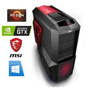 UNITÉ CENTRALE  PC Gamer Ryzen 3 - GeForce GTX 1050Ti 4GO - 16GO R
