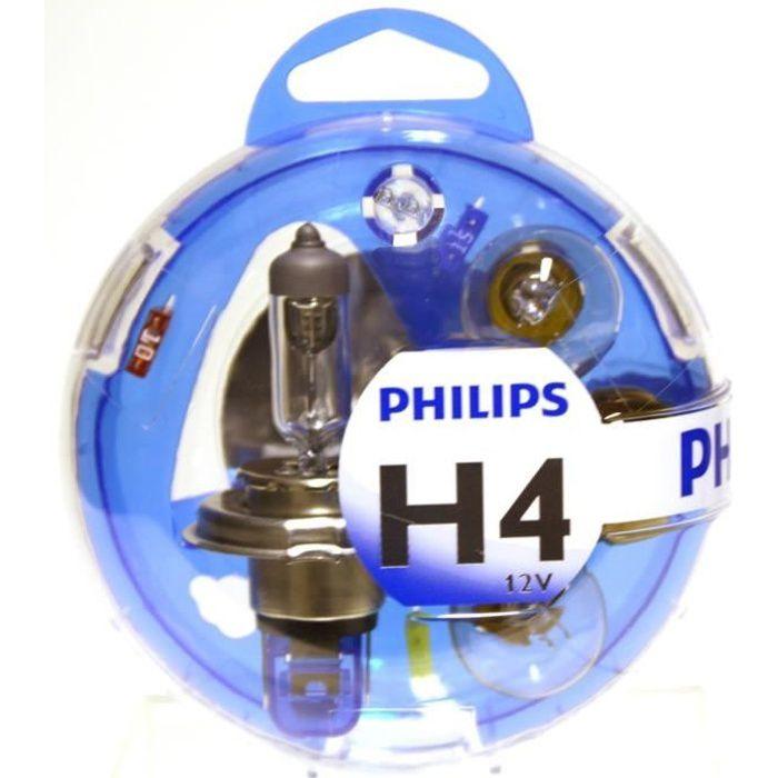 Coffret Philips H4 Essential