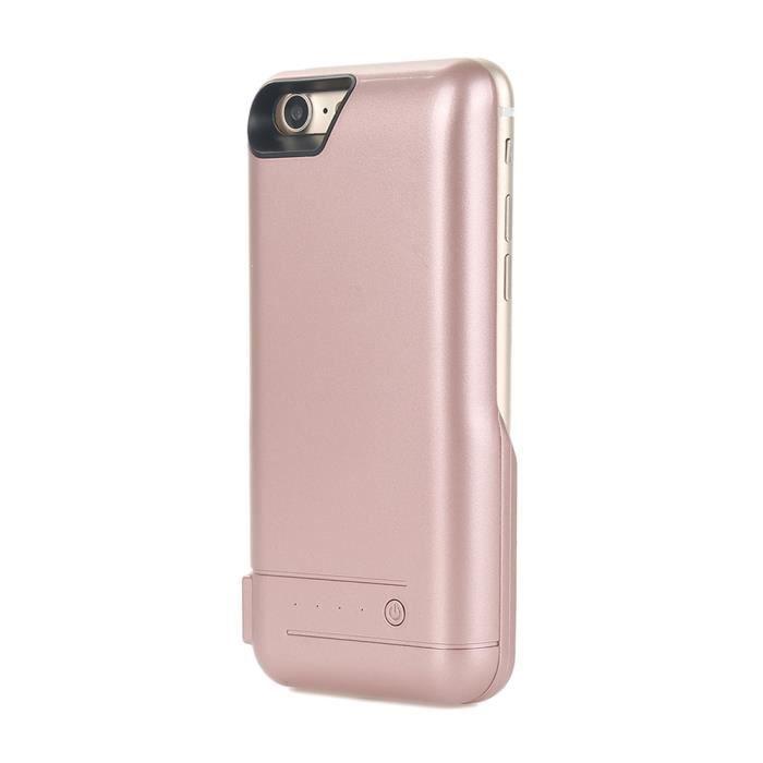 iphone 7 coque or rose