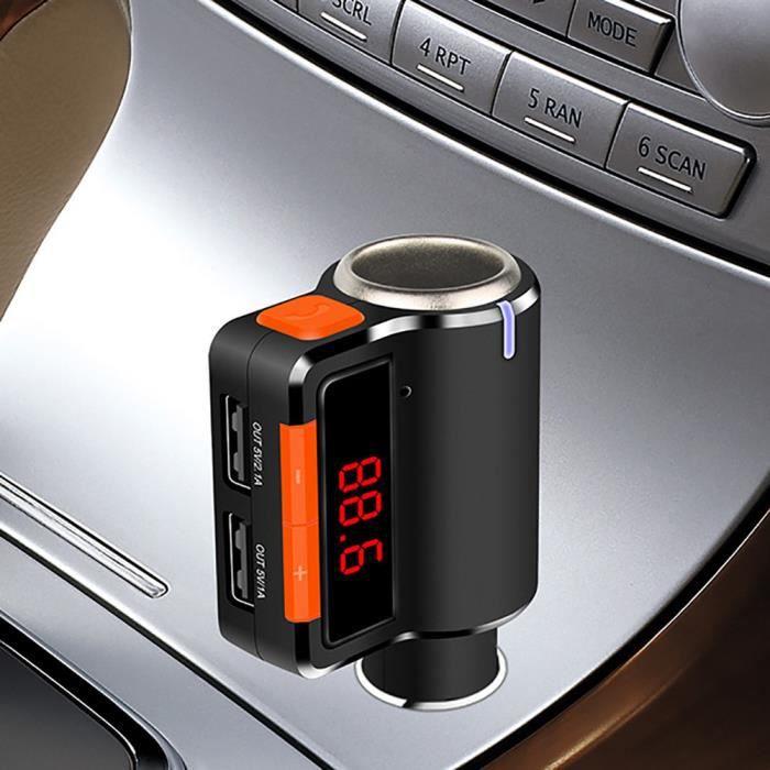 Bluetooth transmetteur FM BC09 chargeur de voiture avec voiture plus léger appel mains libres@LLY70606102