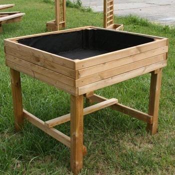 carr potager sur pieds en pin autoclave fsc 10 achat. Black Bedroom Furniture Sets. Home Design Ideas
