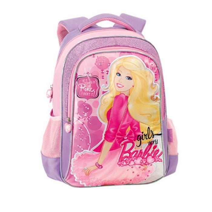 Enfants sac d 39 cole de dessin anim pour les filles tudiants princesse barbie cadeau de sac d - Dessin anime de barbie princesse ...