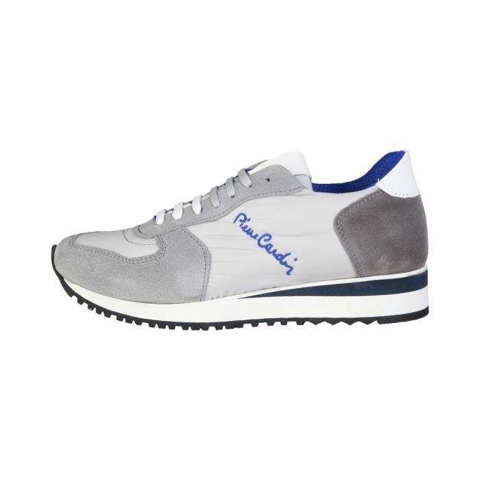 Basket - Pierre Cardin - Sneakers pour Homme bleu Pierre Cardin KwBORYyERW