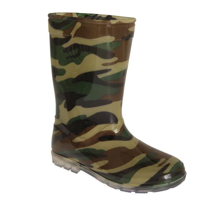 Mudrocks - Bottes camouflage en caoutchouc - Garçon