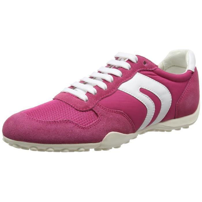 top Sneakers Low 3lhilr Geox Women's 37 D Snake A Taille SLUGqzMVpj