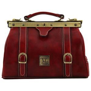 Tuscany Leather - Sac à main cuir - Rouge