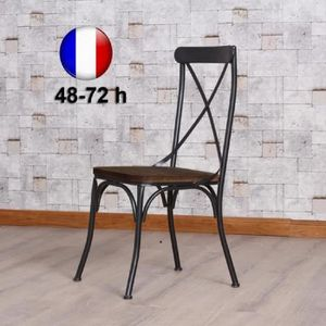 Chaise Style Industriel Achat Vente Chaise Style