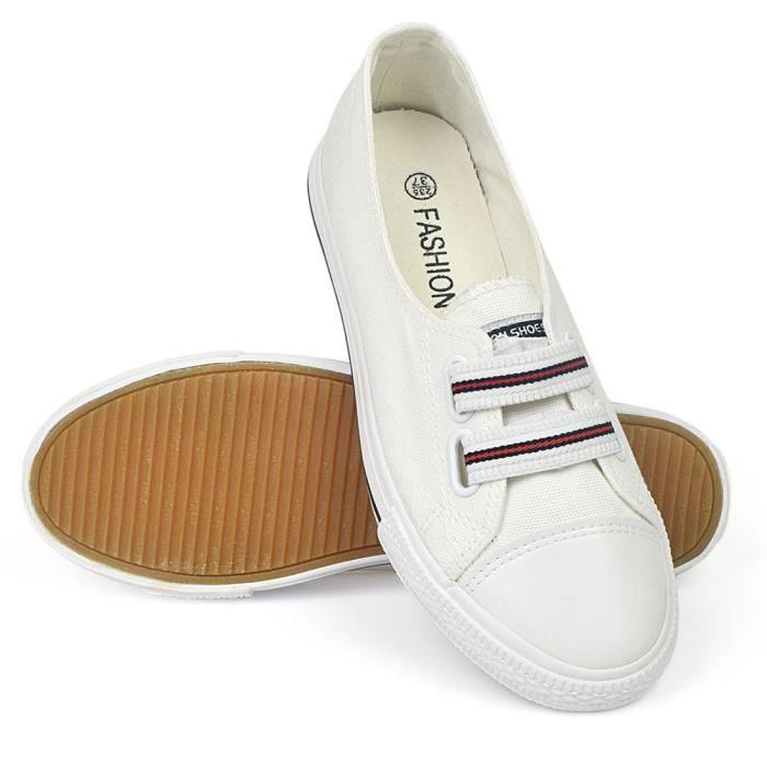 1 Taille Ipj0z Flat on Canvas 2 Shoes 39 Sneaker Walking Slip Sz0wPHq