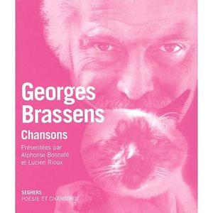 LIVRE MUSIQUE Georges Brassens. Chansons