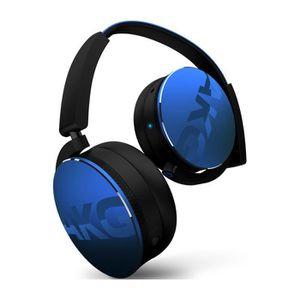 CASQUE - ÉCOUTEURS Casque AKG Y50BT bleu