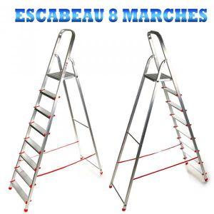 ECHELLE - ESCABEAU SUPER ESCABEAU 8 MARCHES